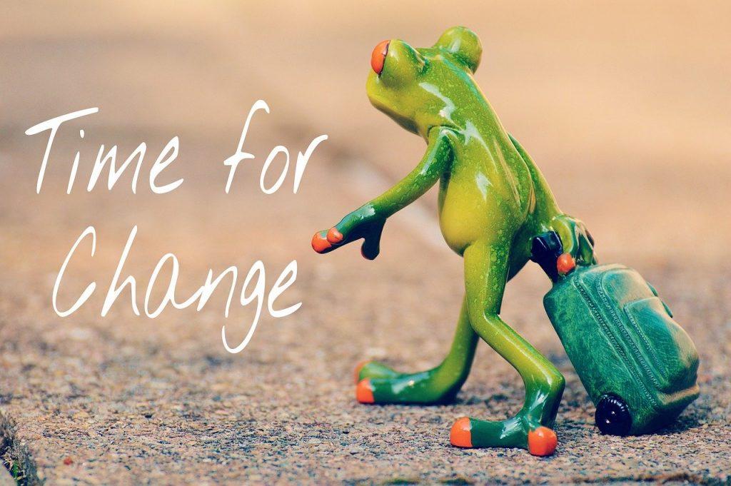 Marketing change strategies