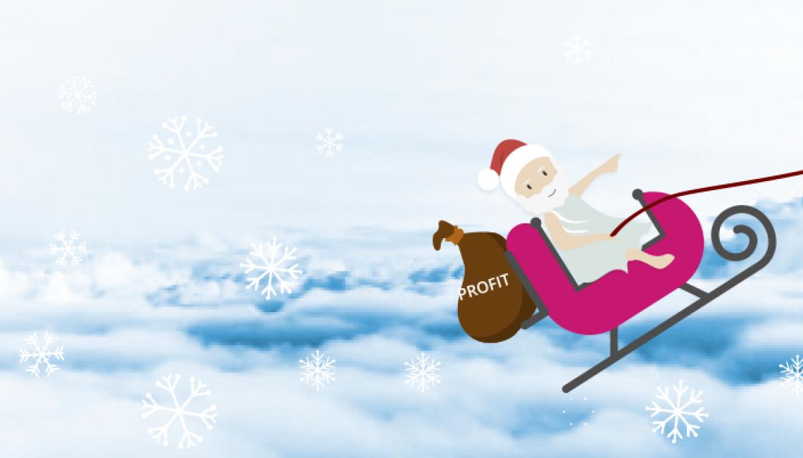 More Christmas sales
